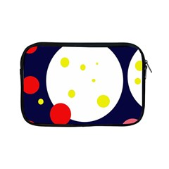 Abstract Moon Apple Ipad Mini Zipper Cases by Valentinaart