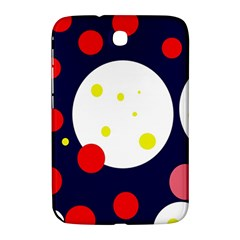 Abstract Moon Samsung Galaxy Note 8 0 N5100 Hardshell Case  by Valentinaart