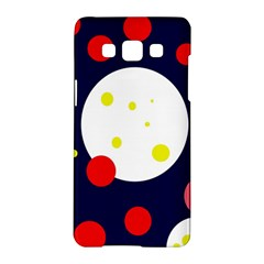 Abstract Moon Samsung Galaxy A5 Hardshell Case  by Valentinaart