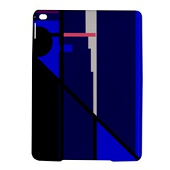 Blue Abstraction Ipad Air 2 Hardshell Cases by Valentinaart