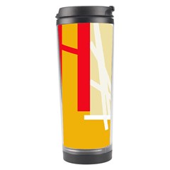 Basketball Travel Tumbler by Valentinaart
