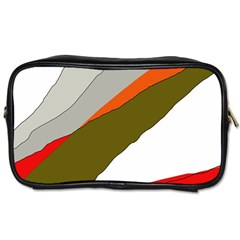 Decorative Abstraction Toiletries Bags by Valentinaart