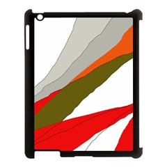 Decorative Abstraction Apple Ipad 3/4 Case (black) by Valentinaart