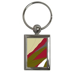 Decoratve Abstraction Key Chains (rectangle)  by Valentinaart