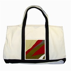 Decoratve Abstraction Two Tone Tote Bag by Valentinaart