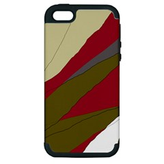 Decoratve Abstraction Apple Iphone 5 Hardshell Case (pc+silicone) by Valentinaart