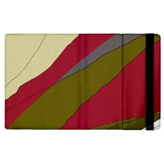 Decoratve Abstraction Apple Ipad 2 Flip Case by Valentinaart