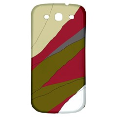 Decoratve Abstraction Samsung Galaxy S3 S Iii Classic Hardshell Back Case by Valentinaart