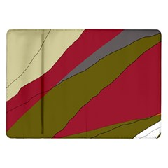 Decoratve Abstraction Samsung Galaxy Tab 10 1  P7500 Flip Case by Valentinaart
