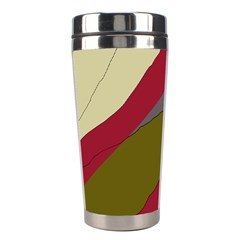 Decoratve Abstraction Stainless Steel Travel Tumblers