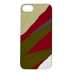 Decoratve Abstraction Apple Iphone 5s/ Se Hardshell Case by Valentinaart