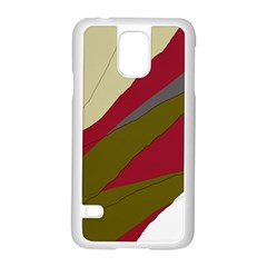Decoratve Abstraction Samsung Galaxy S5 Case (white)