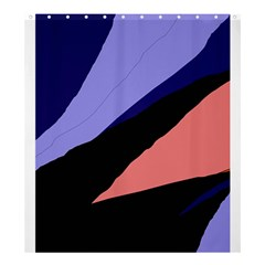 Purple And Pink Abstraction Shower Curtain 66  X 72  (large)  by Valentinaart