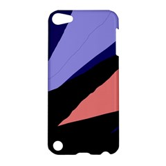 Purple And Pink Abstraction Apple Ipod Touch 5 Hardshell Case by Valentinaart