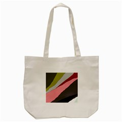 Colorful Abstraction Tote Bag (cream) by Valentinaart