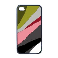 Colorful Abstraction Apple Iphone 4 Case (black) by Valentinaart
