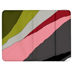 Colorful Abstraction Samsung Galaxy Tab 7  P1000 Flip Case by Valentinaart