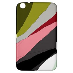 Colorful Abstraction Samsung Galaxy Tab 3 (8 ) T3100 Hardshell Case  by Valentinaart
