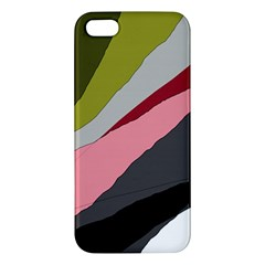 Colorful Abstraction Iphone 5s/ Se Premium Hardshell Case by Valentinaart