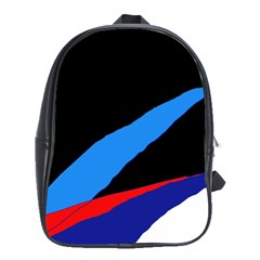 Colorful Abstraction School Bags(large)  by Valentinaart