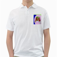 Flora Abstraction Golf Shirts by Valentinaart