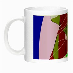Flora Abstraction Night Luminous Mugs