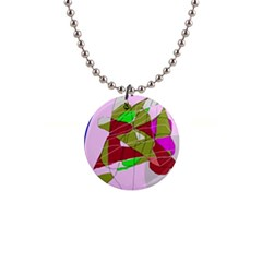 Flora Abstraction Button Necklaces