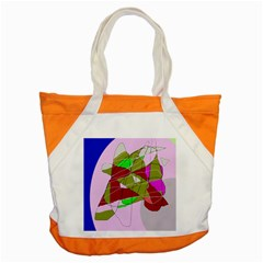 Flora Abstraction Accent Tote Bag