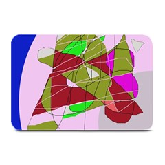 Flora Abstraction Plate Mats
