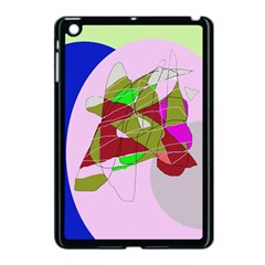 Flora Abstraction Apple Ipad Mini Case (black) by Valentinaart