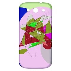 Flora Abstraction Samsung Galaxy S3 S Iii Classic Hardshell Back Case by Valentinaart