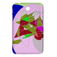 Flora Abstraction Samsung Galaxy Tab 3 (7 ) P3200 Hardshell Case  by Valentinaart