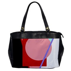 Decorative Geomeric Abstraction Office Handbags by Valentinaart