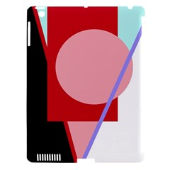 Decorative Geomeric Abstraction Apple Ipad 3/4 Hardshell Case (compatible With Smart Cover) by Valentinaart