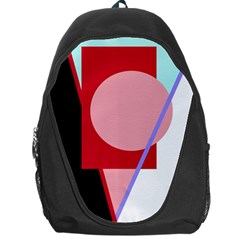 Decorative Geomeric Abstraction Backpack Bag by Valentinaart