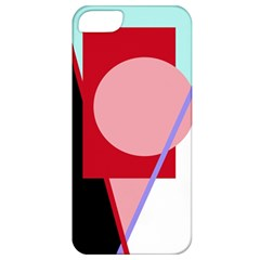 Decorative Geomeric Abstraction Apple Iphone 5 Classic Hardshell Case by Valentinaart