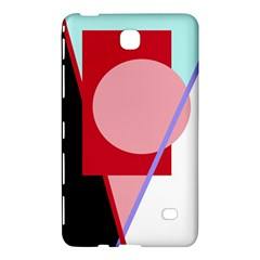 Decorative Geomeric Abstraction Samsung Galaxy Tab 4 (8 ) Hardshell Case  by Valentinaart