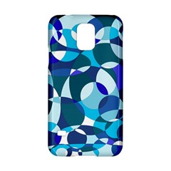 Blue Abstraction Samsung Galaxy S5 Hardshell Case  by Valentinaart