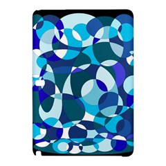 Blue Abstraction Samsung Galaxy Tab Pro 10 1 Hardshell Case by Valentinaart