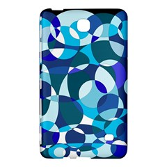 Blue Abstraction Samsung Galaxy Tab 4 (8 ) Hardshell Case  by Valentinaart