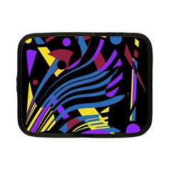 Optimistic Abstraction Netbook Case (small)  by Valentinaart