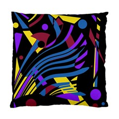 Optimistic Abstraction Standard Cushion Case (two Sides) by Valentinaart