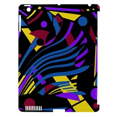 Optimistic Abstraction Apple Ipad 3/4 Hardshell Case (compatible With Smart Cover) by Valentinaart