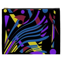 Optimistic Abstraction Cosmetic Bag (xxxl)  by Valentinaart