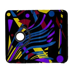 Optimistic Abstraction Samsung Galaxy S  Iii Flip 360 Case by Valentinaart