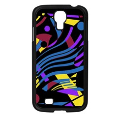 Optimistic Abstraction Samsung Galaxy S4 I9500/ I9505 Case (black) by Valentinaart