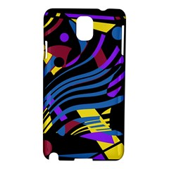 Optimistic Abstraction Samsung Galaxy Note 3 N9005 Hardshell Case by Valentinaart