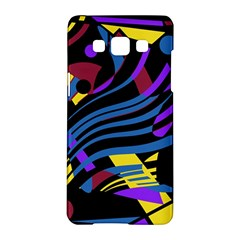 Optimistic Abstraction Samsung Galaxy A5 Hardshell Case  by Valentinaart