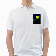 Falling  Ball Golf Shirts by Valentinaart