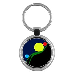 Falling  Ball Key Chains (round)  by Valentinaart